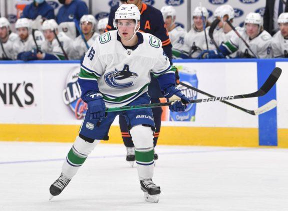 Nils Hoglander Vancouver Canucks