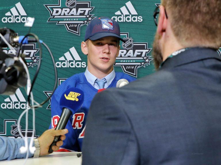 Nils Lundkvist New York Rangers