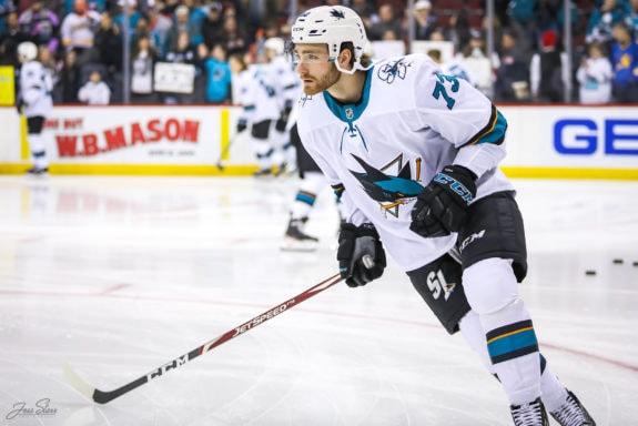 Noah Gregor San Jose Sharks