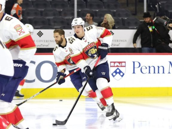 Noel Acciari of the Florida Panthers is one of 20 Rhode Island-born NHL players.