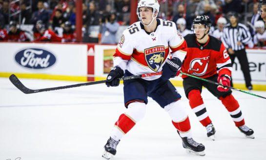 Acciari, Bobrovsky Lift Panthers Over Canucks 5-2
