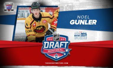 Noel Gunler – 2020 NHL Draft Prospect Profile