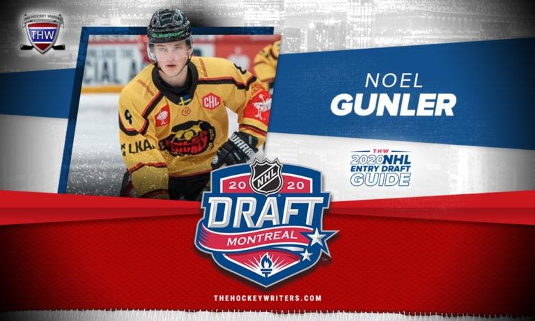 The Hockey Writers 2020 NHL Entry Draft Guide Noel Gunler