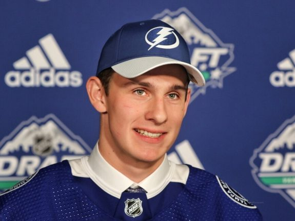 Nolan Foote Lightning Draft