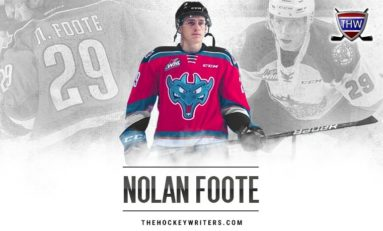 Rockets' Nolan Foote Gearing Up for Draft Year