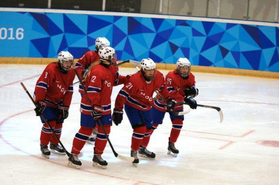 Norwegian Women's Hockey Team