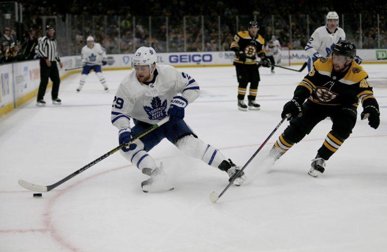 Toronto Maple Leafs William Nylander Boston Bruins Matt Grzelcyk