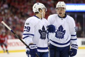 Auston Matthews, William Nylander, Toronto Maple Leafs