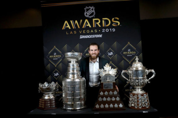 Ryan O'Reilly St. Louis Blues Frank J. Selke Stanley Cup Conn Smythe Clarence Campbell
