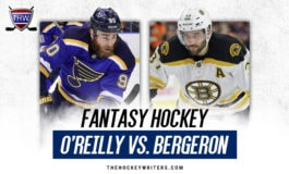 Fantasy Faceoff: O'Reilly vs. Bergeron