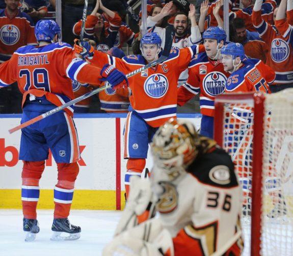 Ducks vs. Oilers
