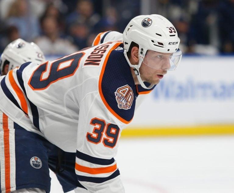 Edmonton Oilers Alex Chiasson