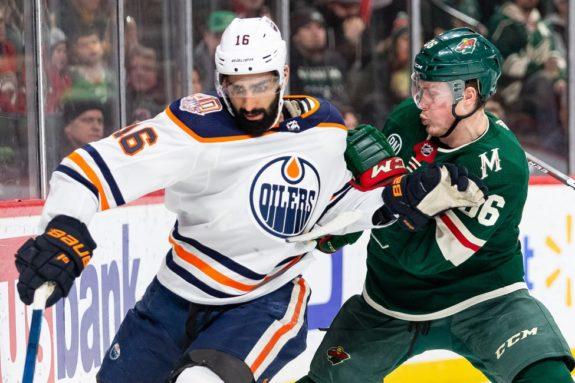 Edmonton Oilers Jujhar Khaira Minnesota Wild Nick Seeler