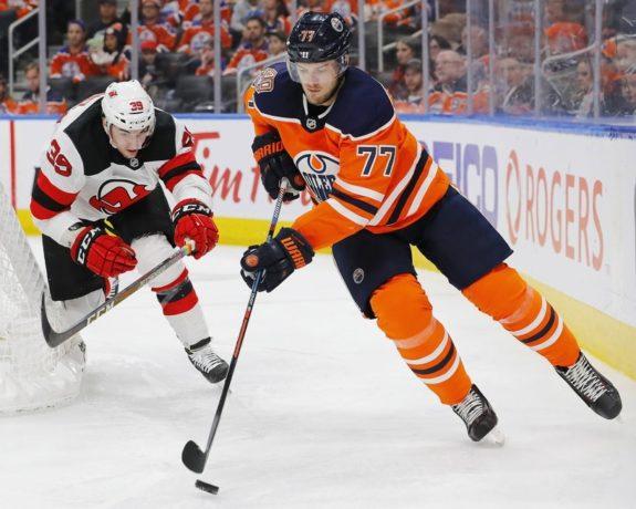 Edmonton Oilers Oscar Klefbom