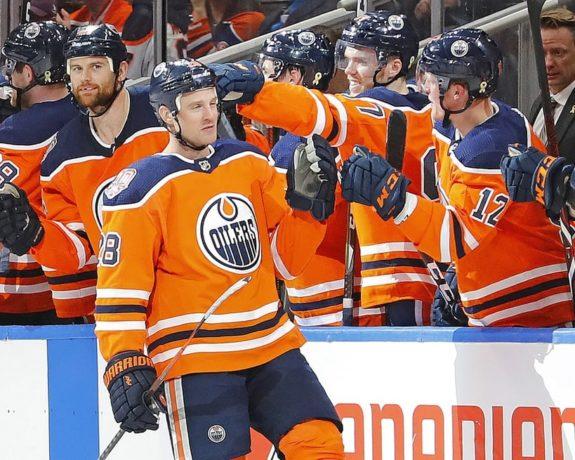 Edmonton Oilers Kyle Brodziak