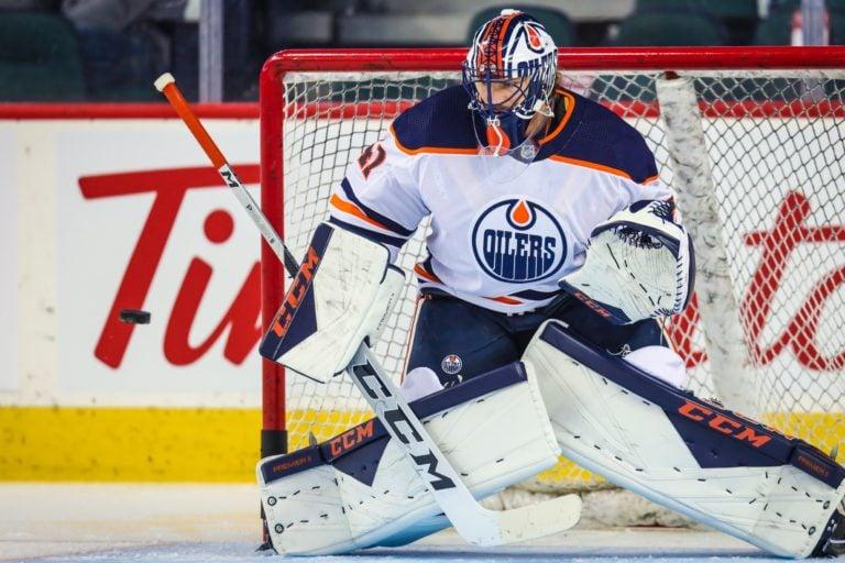 Edmonton Oilers Mike Smith