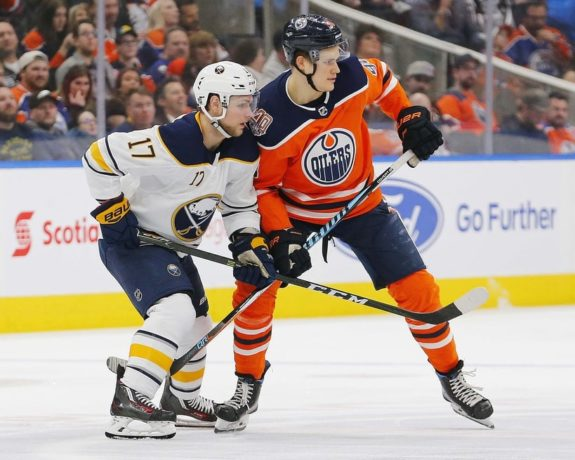 Edmonton Oilers Jesse Puljujarvi Buffalo Sabres Vladimir Sobotka