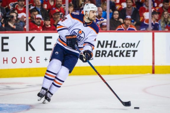Edmonton Oilers Kris Russell