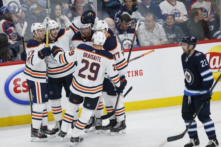 Winnipeg Jets vs Edmonton Oilers