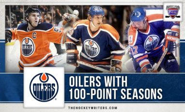 Edmonton Oilers With 100-Point Seasons