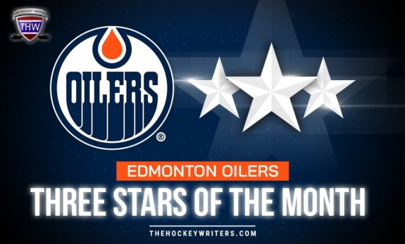 Edmonton Oilers Three Stars of the Month