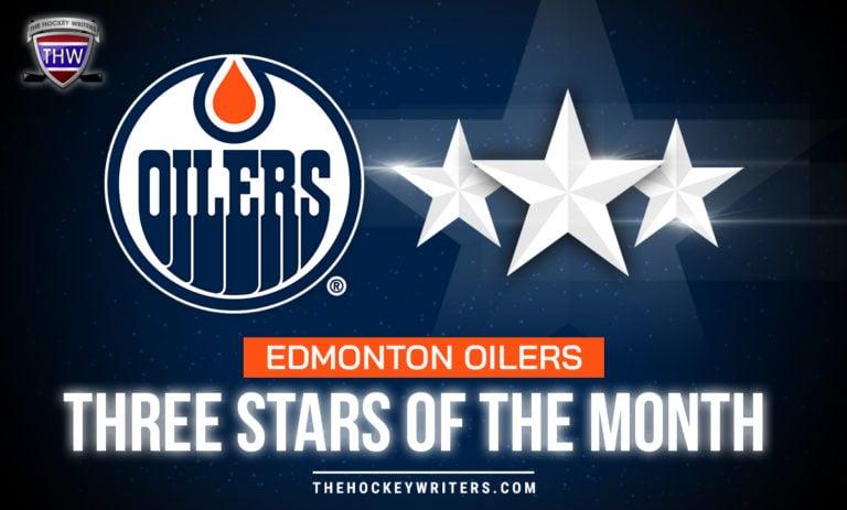 Edmonton Oilers Three Stars of the Month