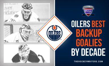 Oilers' Best Backup Goaltenders by Decade