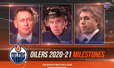 Oilers' 2020-21 Milestones: Holland & McDavid Can Join Elite Company