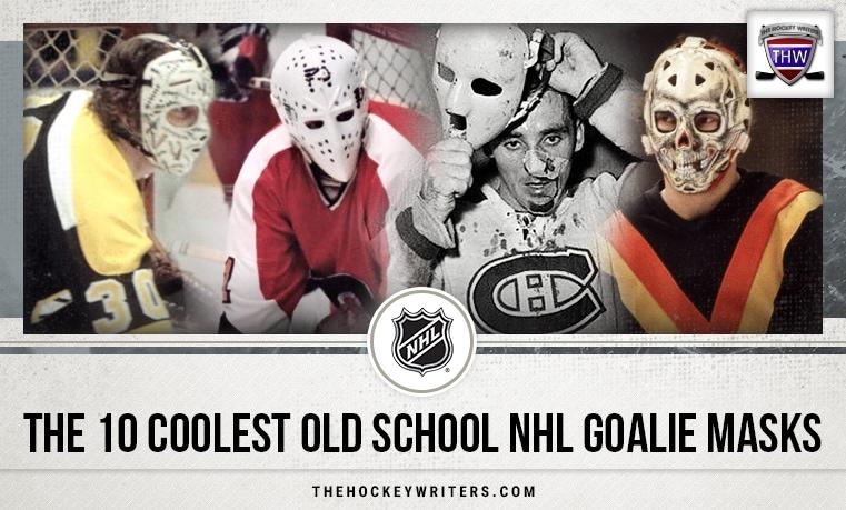 The 10 Coolest Old School NHL Goalie Masks