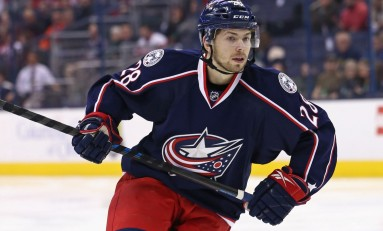 Bjorkstrand Making Case for Blue Jackets Roster Spot