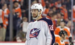 Bjorkstrand Scores Twice, Rallies Blue Jackets Over Rangers 2-1