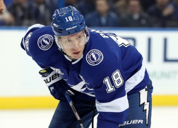 Lightning left wing Ondrej Palat