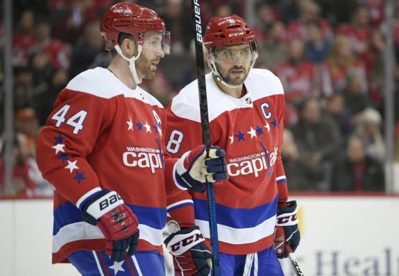 Washington Capitals Alex Ovechkin Brooks Orpik