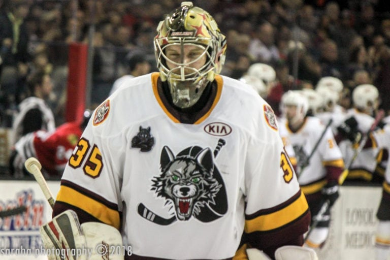 Oscar Dansk Chicago Wolves