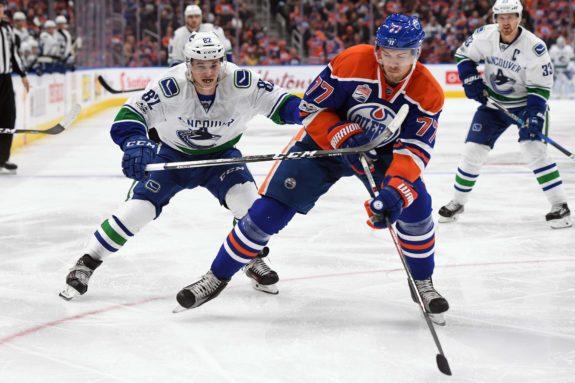 Edmonton Oilers defenseman Oscar Klefbom