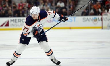 Oilers Power Play Misses Oscar Klefbom