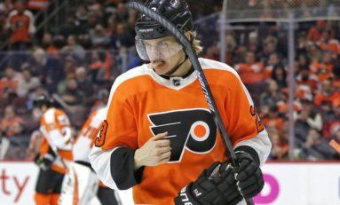 Oskar Lindblom and Optimizing the Flyers' Lineup