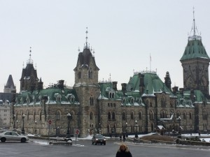 The city of Ottawa was the first stop on our Canadian tour