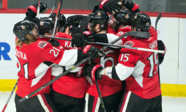 Senators Find Comfort In Standings