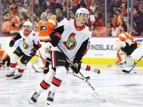 Ottawa Senators Filip Chlapik
