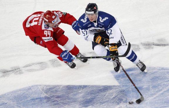 Otto Leskinen Finland Canadiens