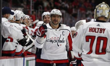 Capitals Edge Kings - Ovechkin Tallies 2 More