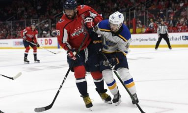 Capitals Split Exhibition Games with Blues