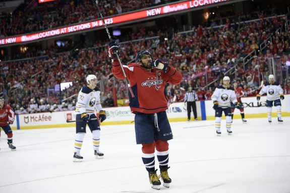 Washington Capitals Alex Ovechkin
