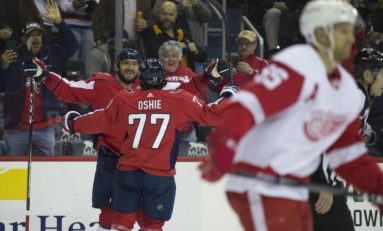 Capitals Bury Red Wings on Ovechkin's Hat Trick