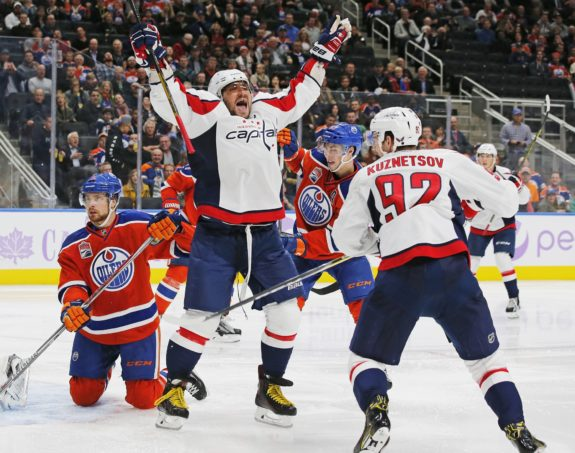 Alex Ovechkin, Washington Capitals, NHL