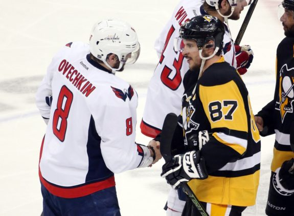 Pittsburgh Penguins, Washington Capitals