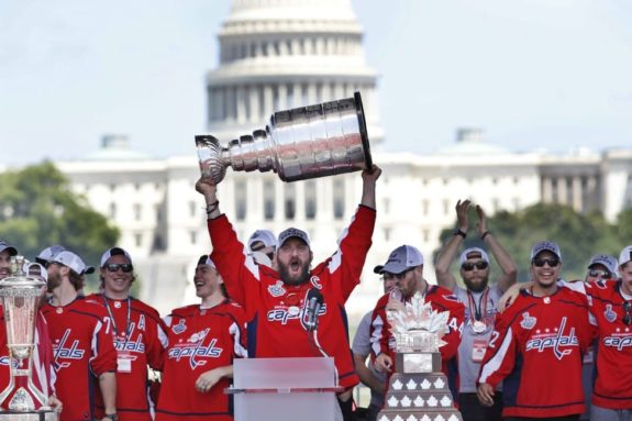 Alex Ovechkin Stanley Cup Capitol