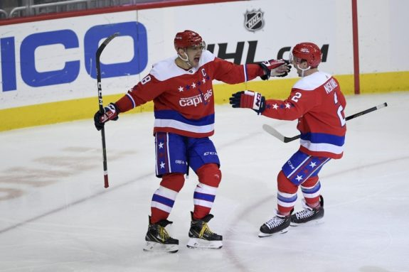 Washington Capitals Alex Ovechkin Matt Niskanen