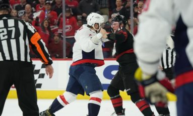 "3 Thoughts on the Svechnikov vs Ovechkin ""Fight"""